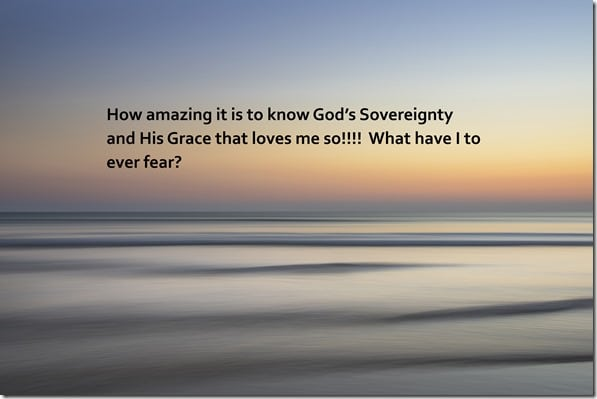 Sovereignty and grace